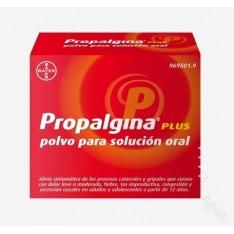 PROPALGINA PLUS POLVO PARA SOLUCIÓN ORAL, 10 SOBRES